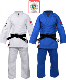 Fighting Films Superstar 750 wit en blauw ijf approved