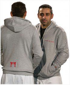 hoodie heather grey