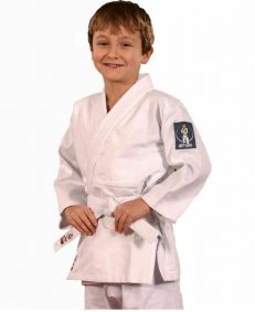 Hajime judopak boys, sterk en comfortabel kinderjudopak van internationaal topmerk Fighting Films