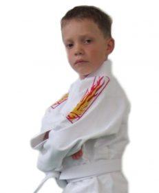 De Gill Kids is een slim fit kinderjudopak Kids van Gill Sports
