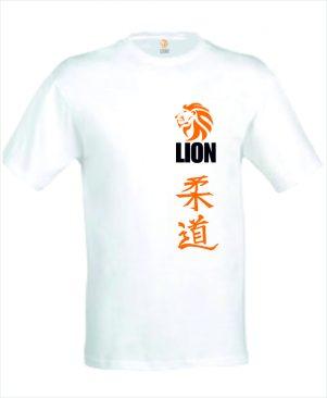Judo T-shirt 'Judo in Japanse karakters'