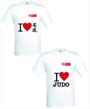 Judo T-shirt I love Judo