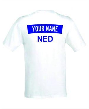 Judo T-shirt met jouw naam