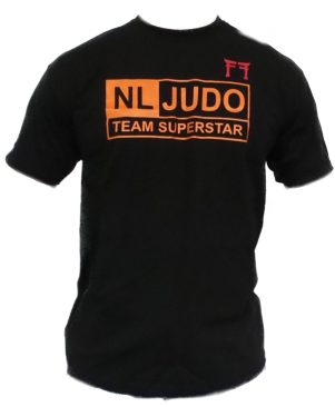 Judo T-shirt Fighting Films NL Judo Team Superstar