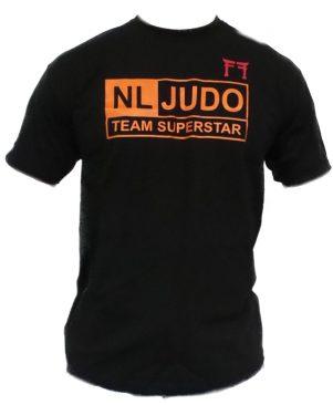 Judo T-shirt Fighting Films NL Judo Team Superstar