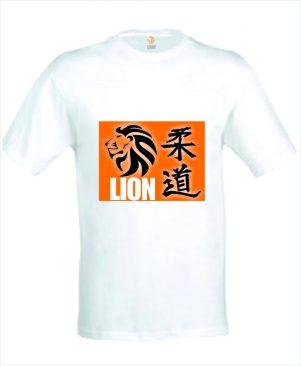 judo T-shirt Lion Judo