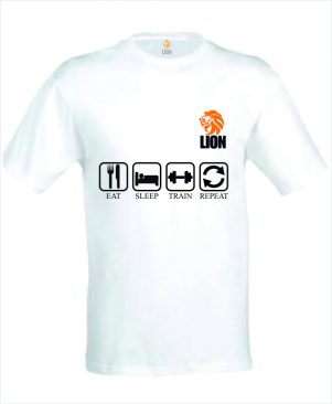 T-shirt eat sleep sport repeat